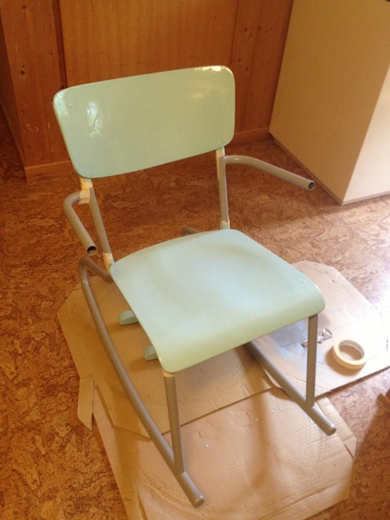 stol, første strøk