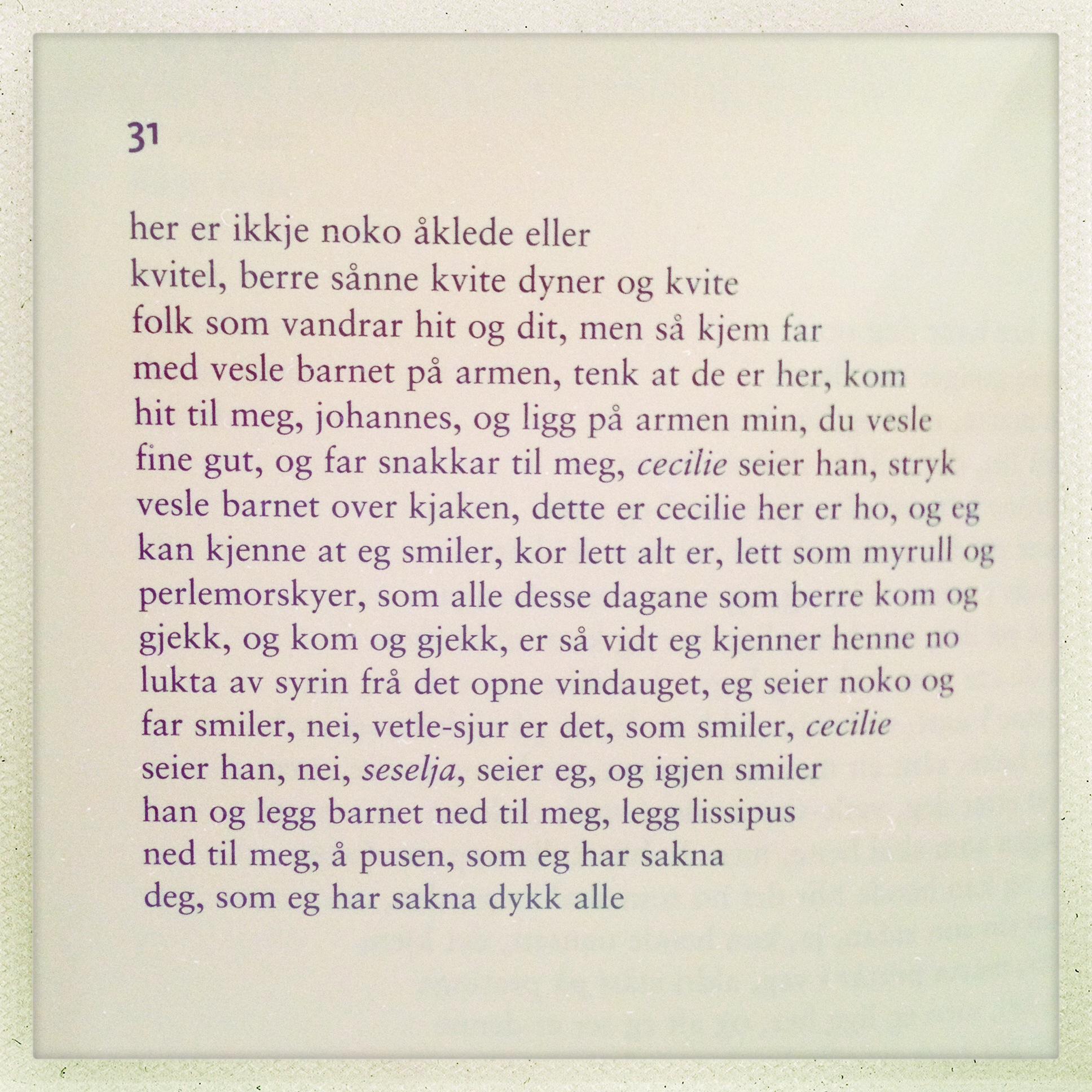 dikt til bror